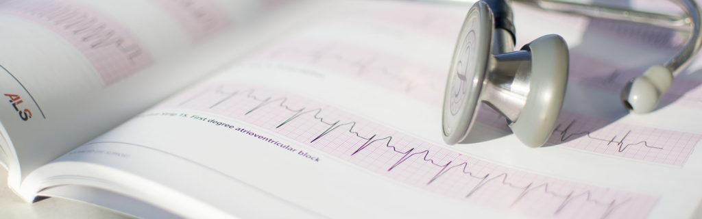 ECG and Stethoscope